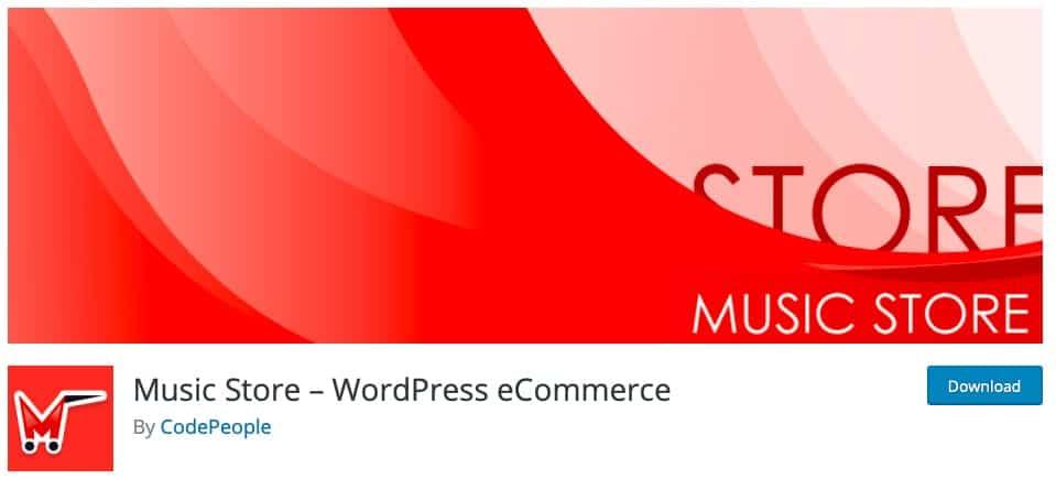 Music Store – WordPress eCommerce