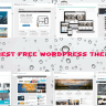 "10 Best Free WordPress Themes : Under ""Popular"" Category"