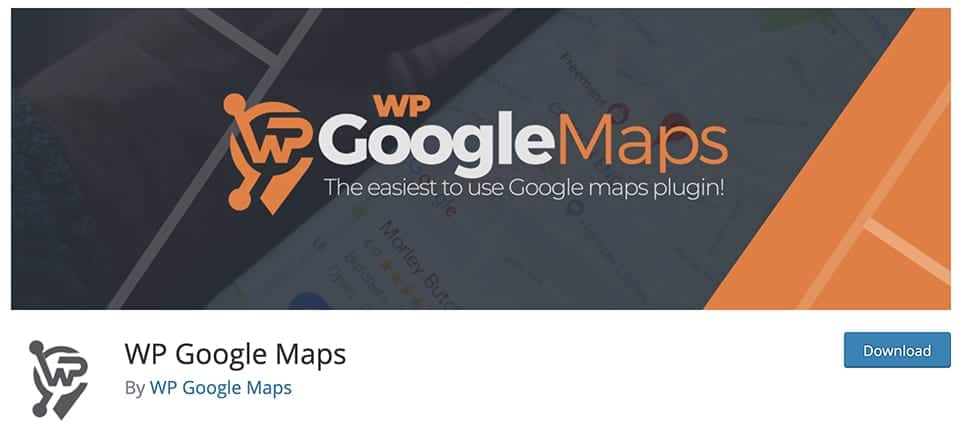 WP Google Maps free plugin