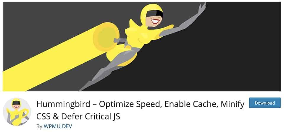 Hummingbird – Optimize Speed, Enable Cache, Minify CSS & Defer Critical JS