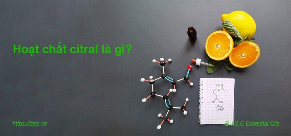 Hoạt chất citral là gì