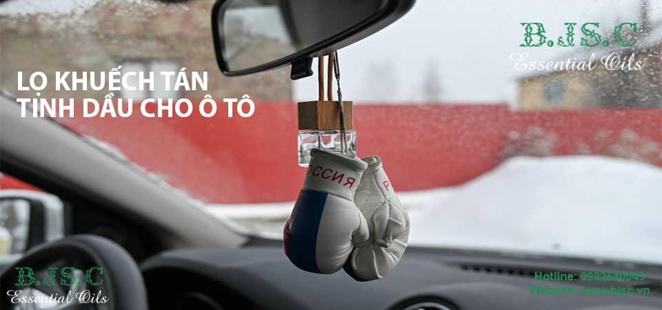 Lọ khuếch tán tinh dầu cho ô tô