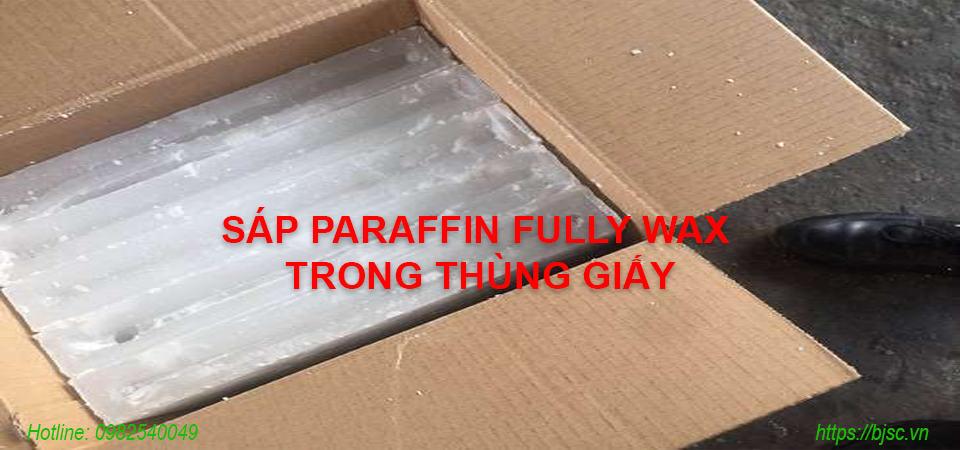 Quy cách đóng hộp Sáp Paraffin Fully Wax