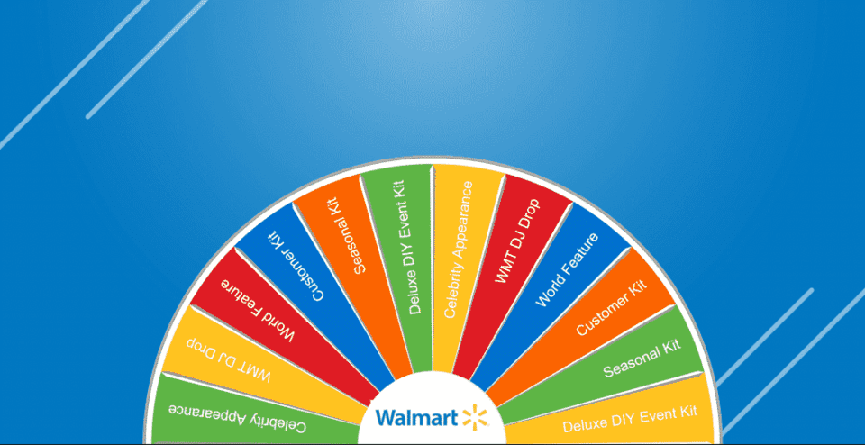 Walmart - International Support Meeting Virtual Prize Wheel