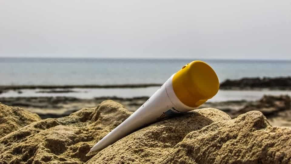 Sunscreen to protect your skin