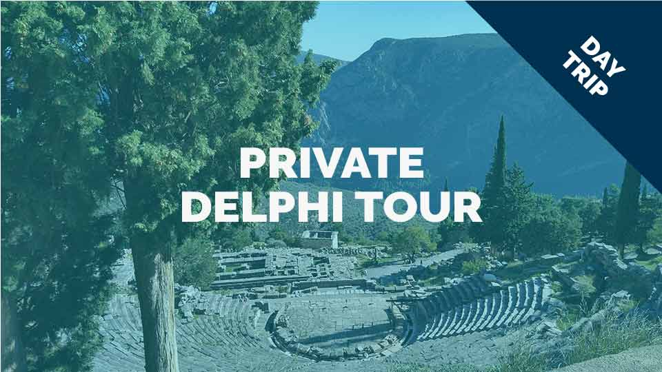 Private Delphi tour with Dutch or German speaking guide