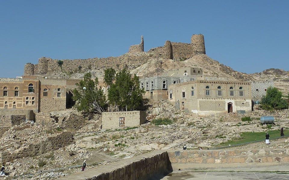 Ruins in Dhamar, Yemen