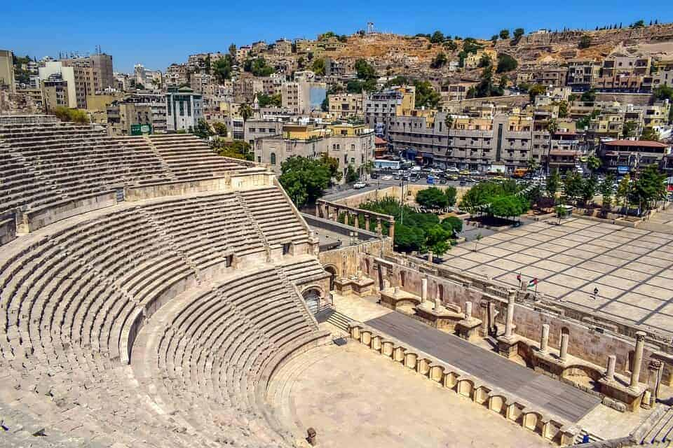 Jordaninteresting facts: There's a 2nd century Roman theatre next to the city