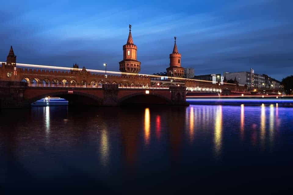 Berlin has more bridges than Venice