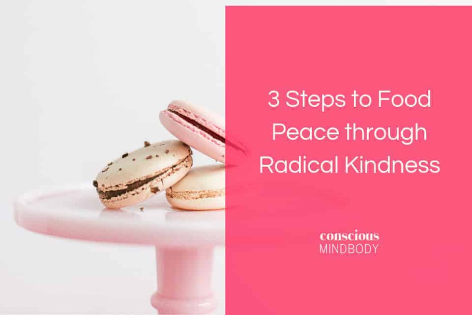 food peace through radical kindness