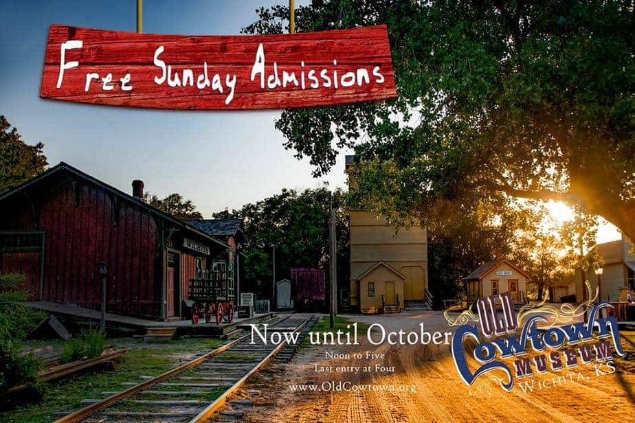 FREE Sunday admission to Old Cowtown Museum in Wichita