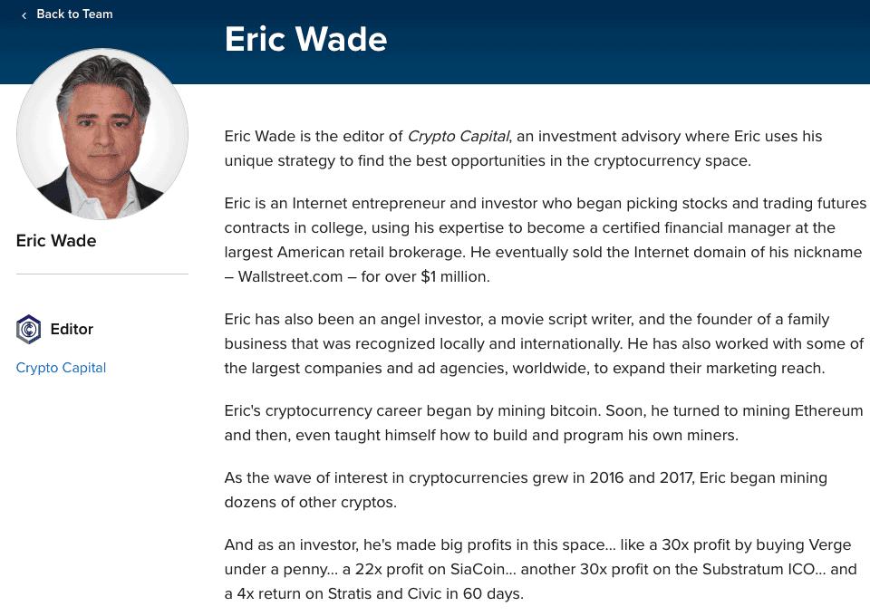 eric wade