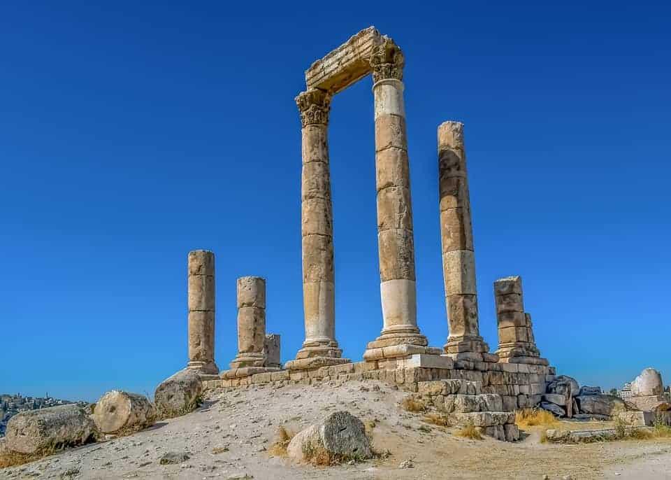Temple of Hercules in Amman