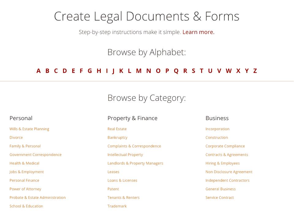 best online legal service