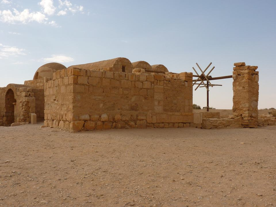 Jordaninteresting facts: The Qasr Amra is an example of early Islamic art and architecture