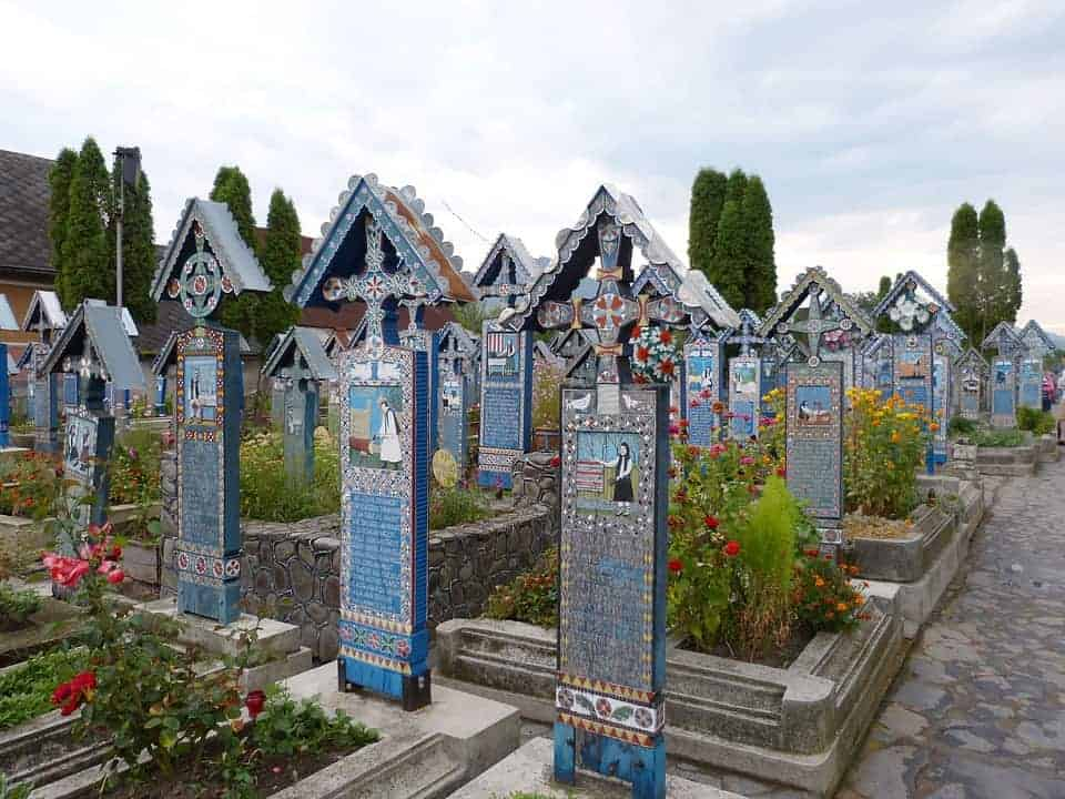 The world's happiest cemetary