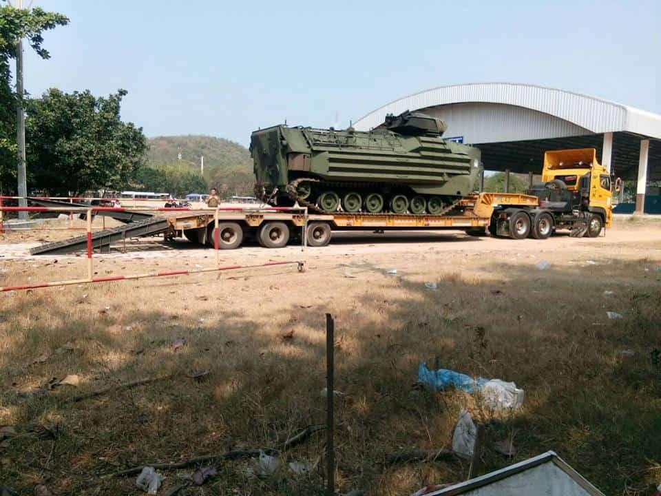 รถโจมตีสะเทินน้ำสะเทินบก Amphibious Assault Vehicle
