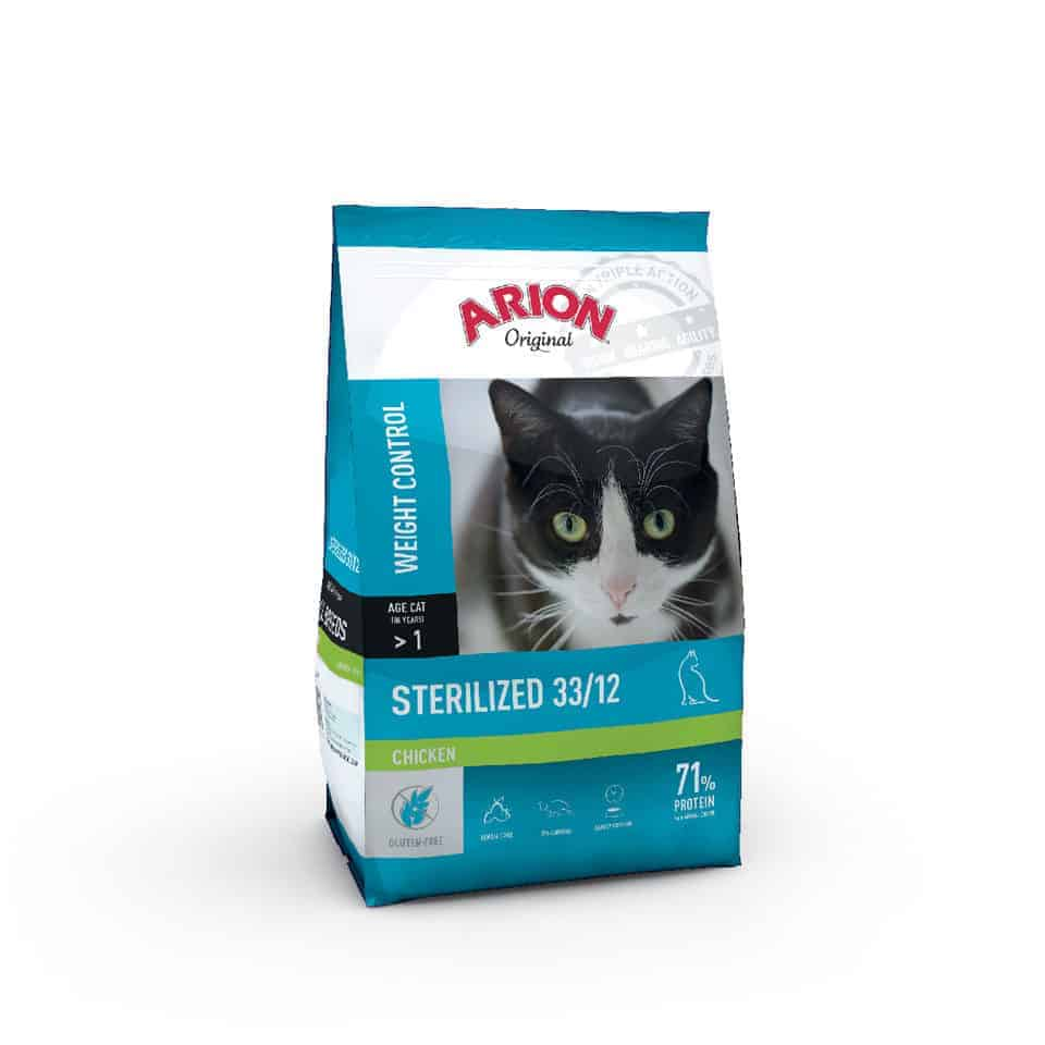Arion Original Cat Sterilized 33/12 Chicken