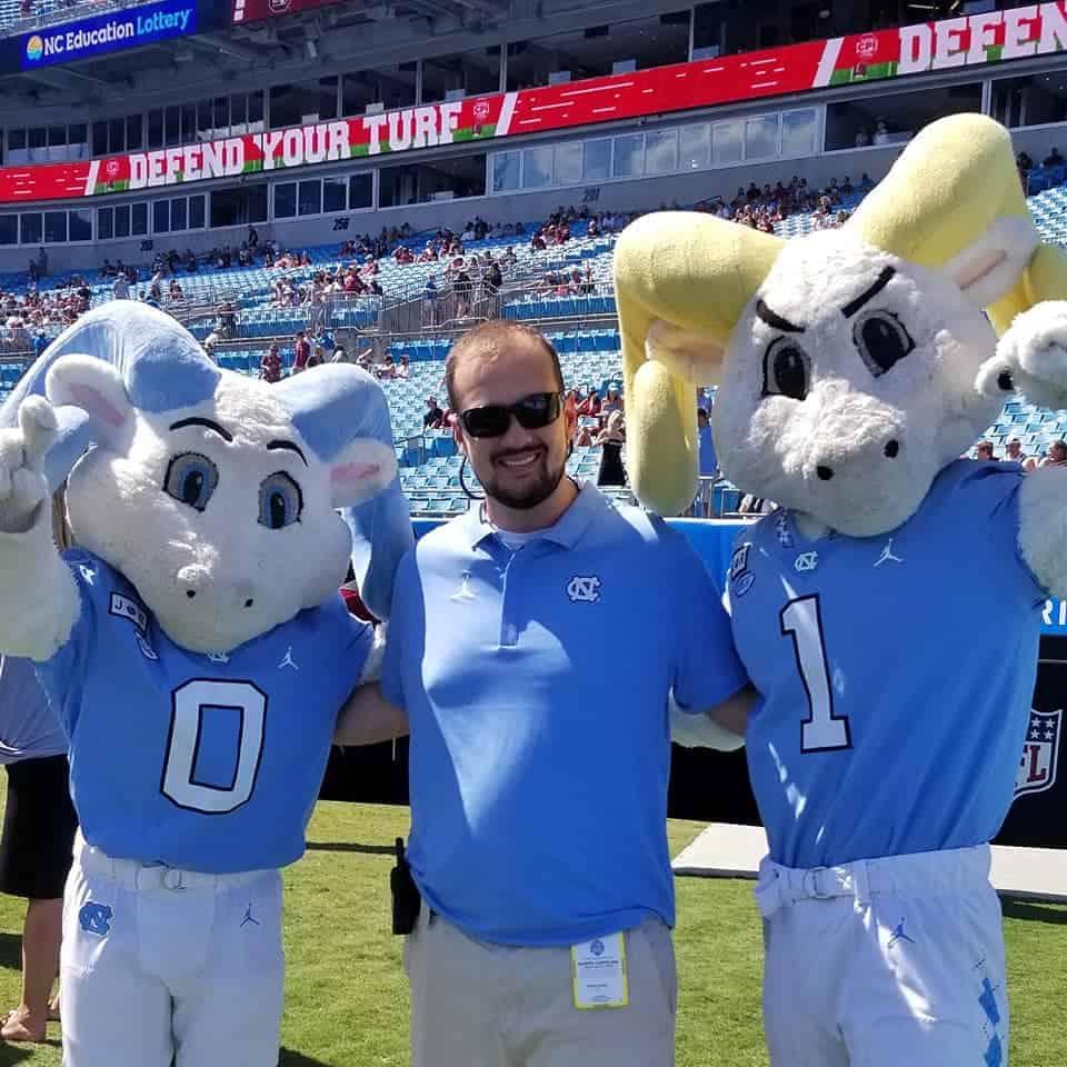 Jackson Lanier with Rameses and RJ