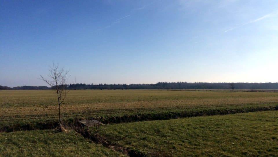 Uitzicht Vanaf Camping Oudewillemsveldt Drenthe