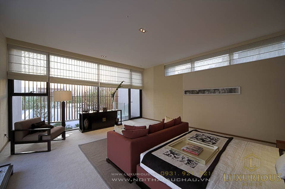 Thiết kế nội thất phòng ngủ nhà biệt thự giá bao nhiêu