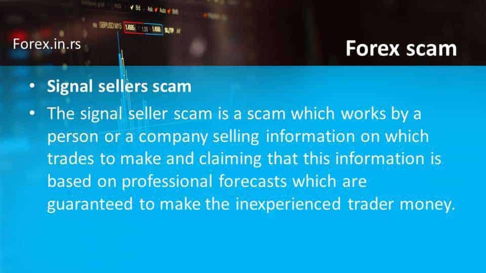 signal seller scam