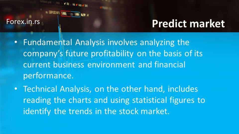 predict market price using technical and fundamental analysis