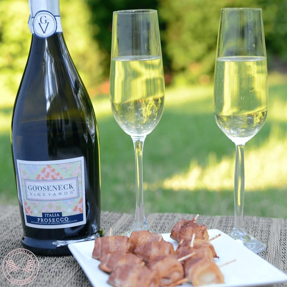 Gooseneck Vineyards | Valentines Day Menu