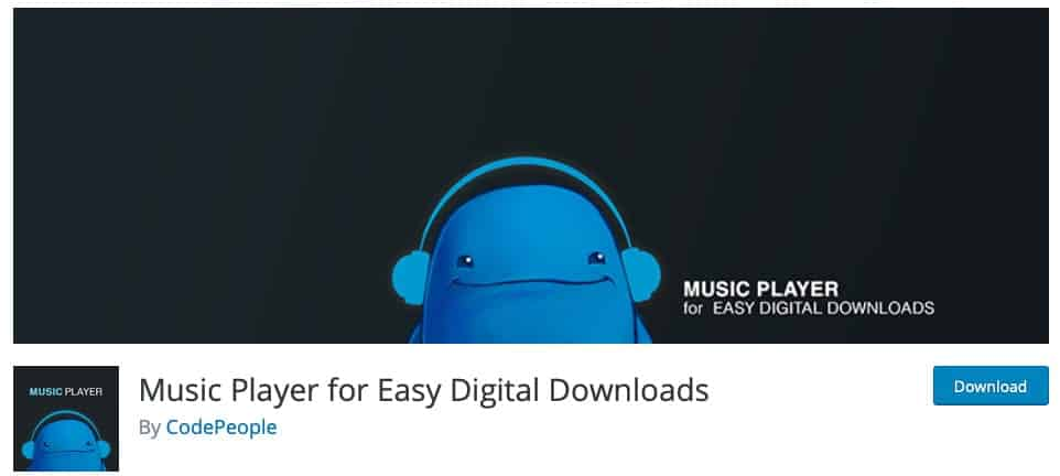 Music Player for Easy Digital Downloads