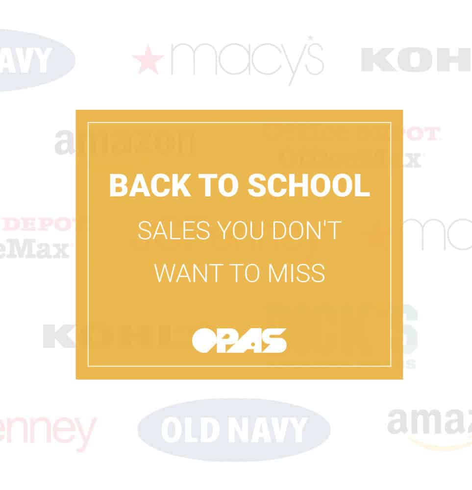 Back to School Sales in 2018