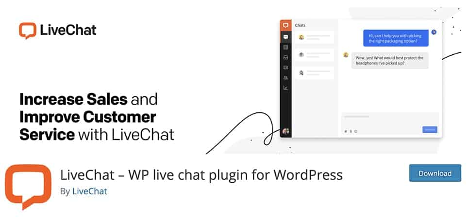 LiveChat – WP live chat plugin for WordPress
