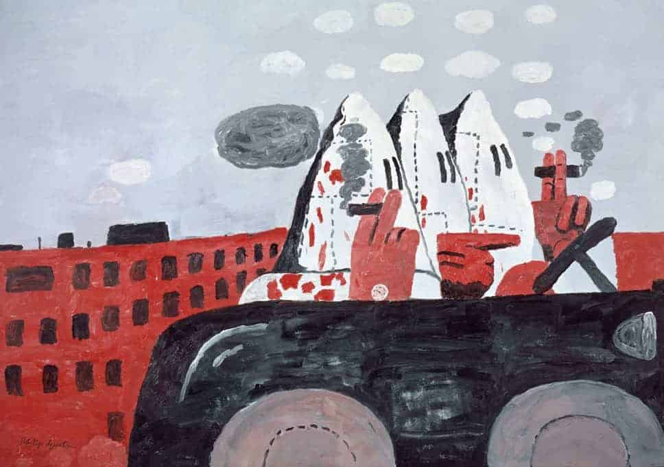 Philip Guston, Riding Around, 1969.