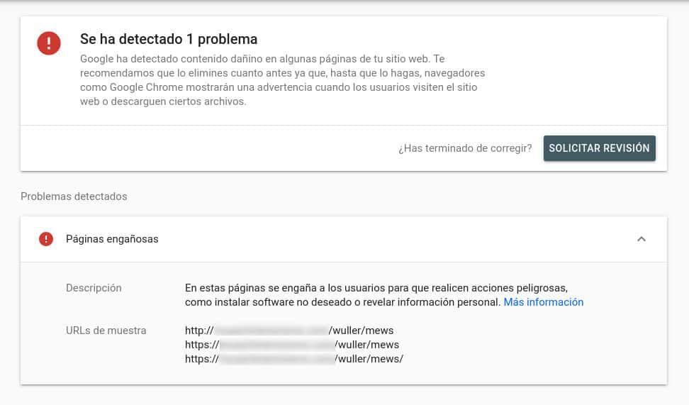 Verificar página web en Google Search Console