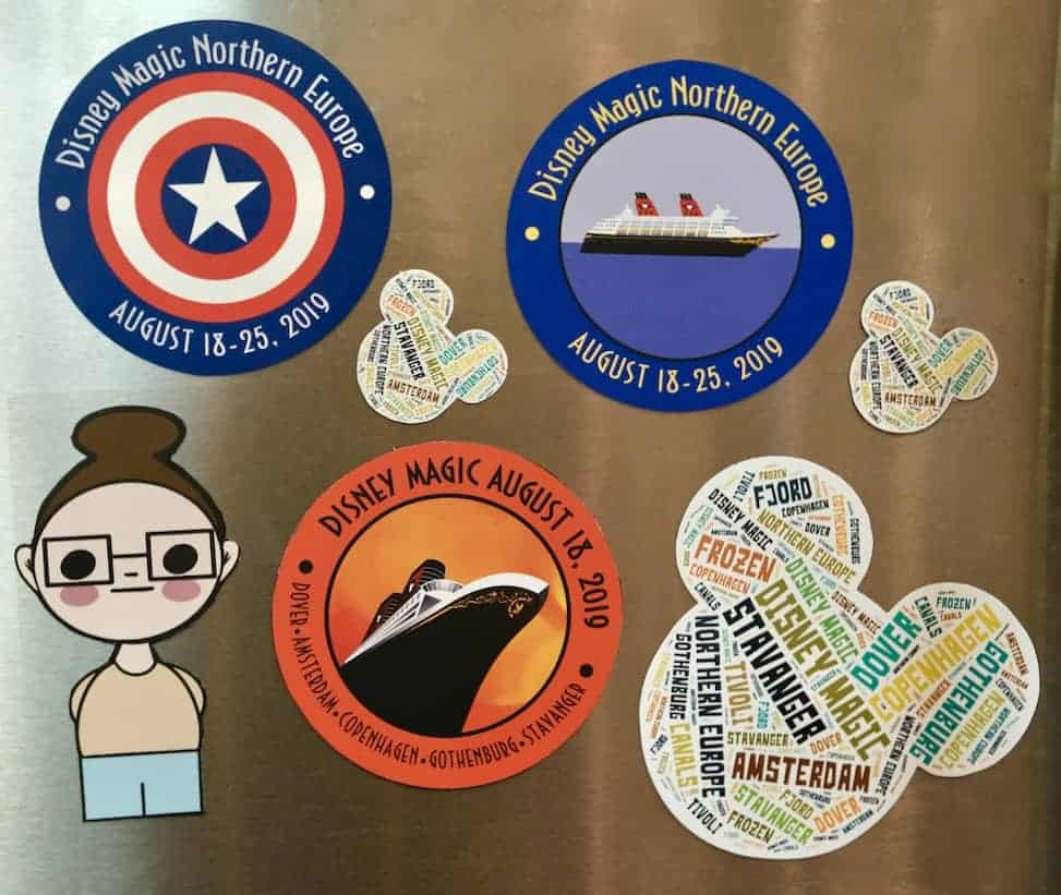 Disney Cruise Door Magnet