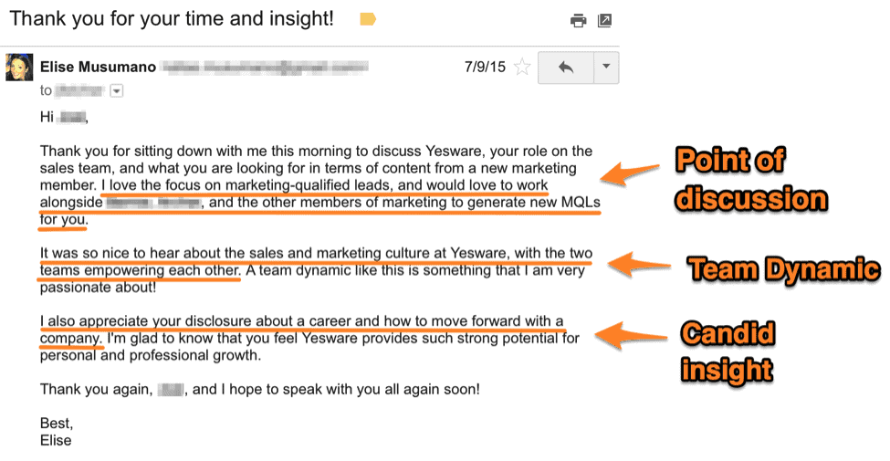 follow up email template what to send after your interview