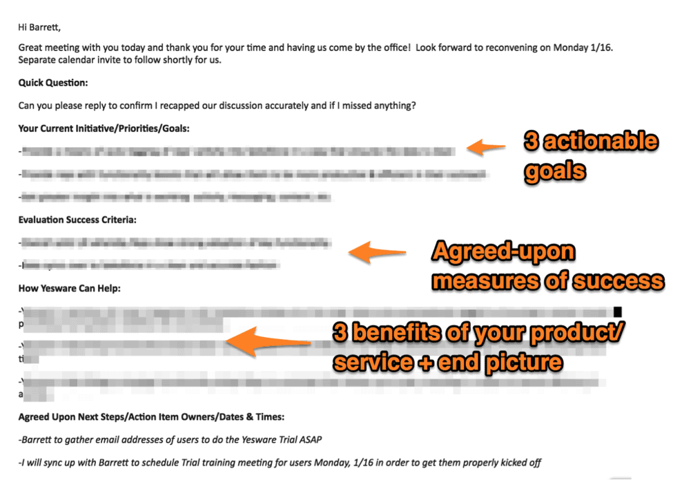 follow up email template what to send after your meeting
