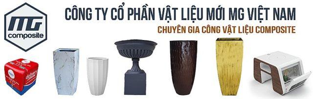 Gia công Composite- Chậu composite MGPOT- Thùng ship - CTCP MGVIETNAM