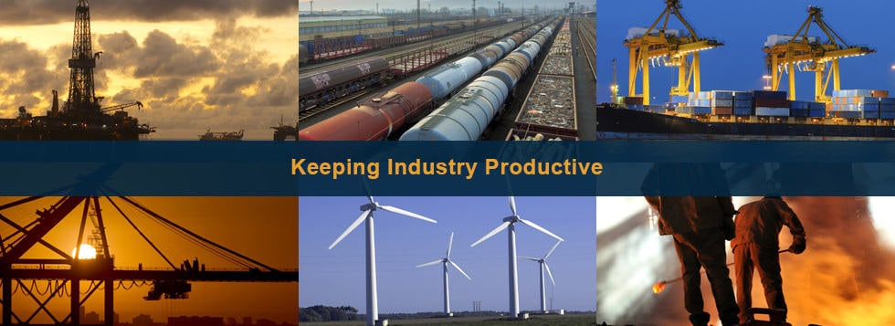 Keeping Heavy Industry Productive