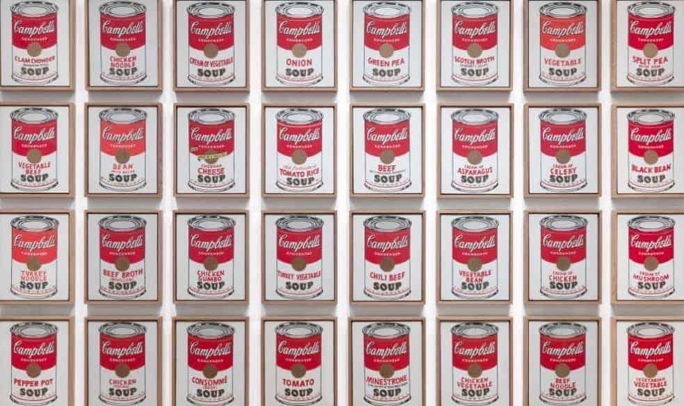 Andy Warhol Acrylic Paint