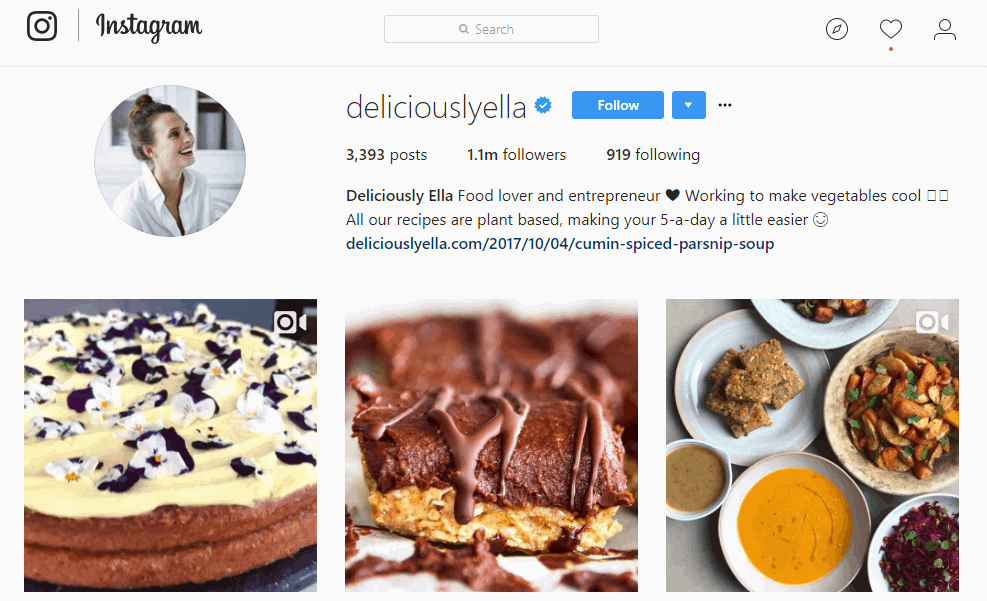 Delicious Yella Instagram profile - Influencer Marketing Statistics