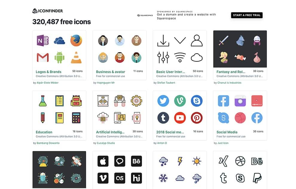 iconfinder best free icons to download