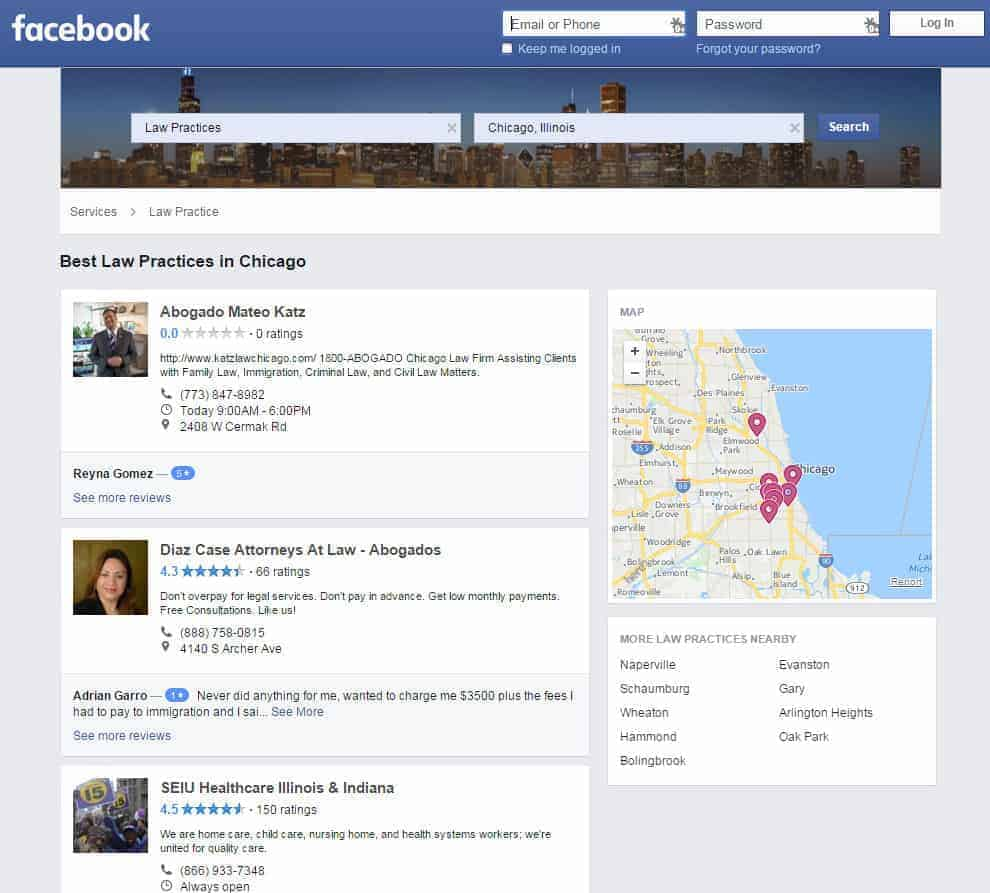 Law Practices in Chicago  Illinois   Facebook 2
