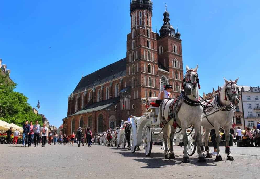 Krakow is one of the best places to visit in Poland