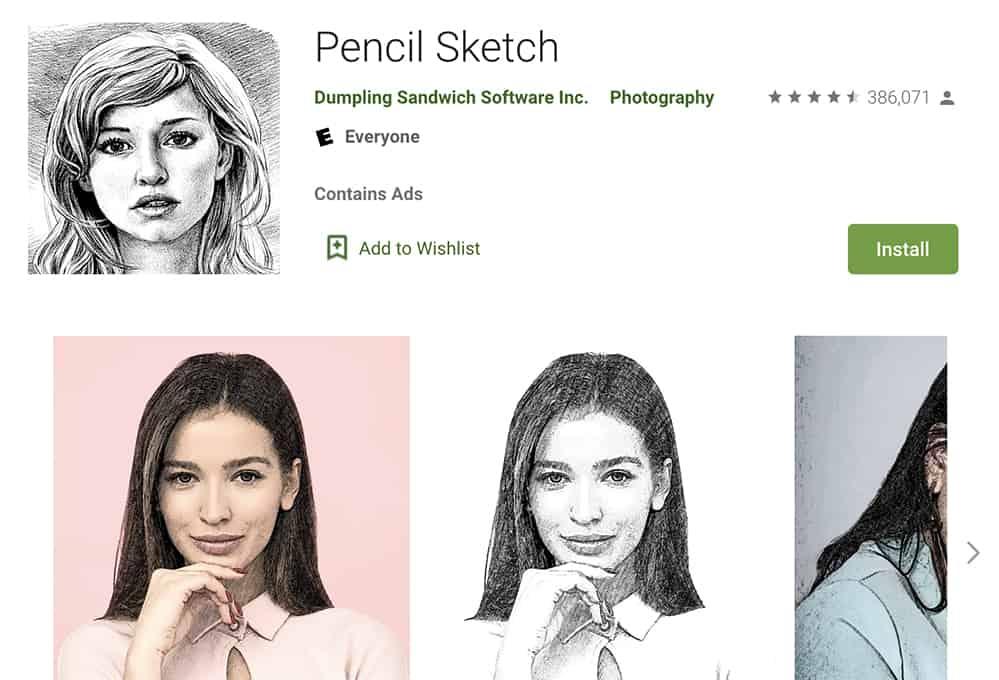 برنامه نقاشی طرح مداد رایگان