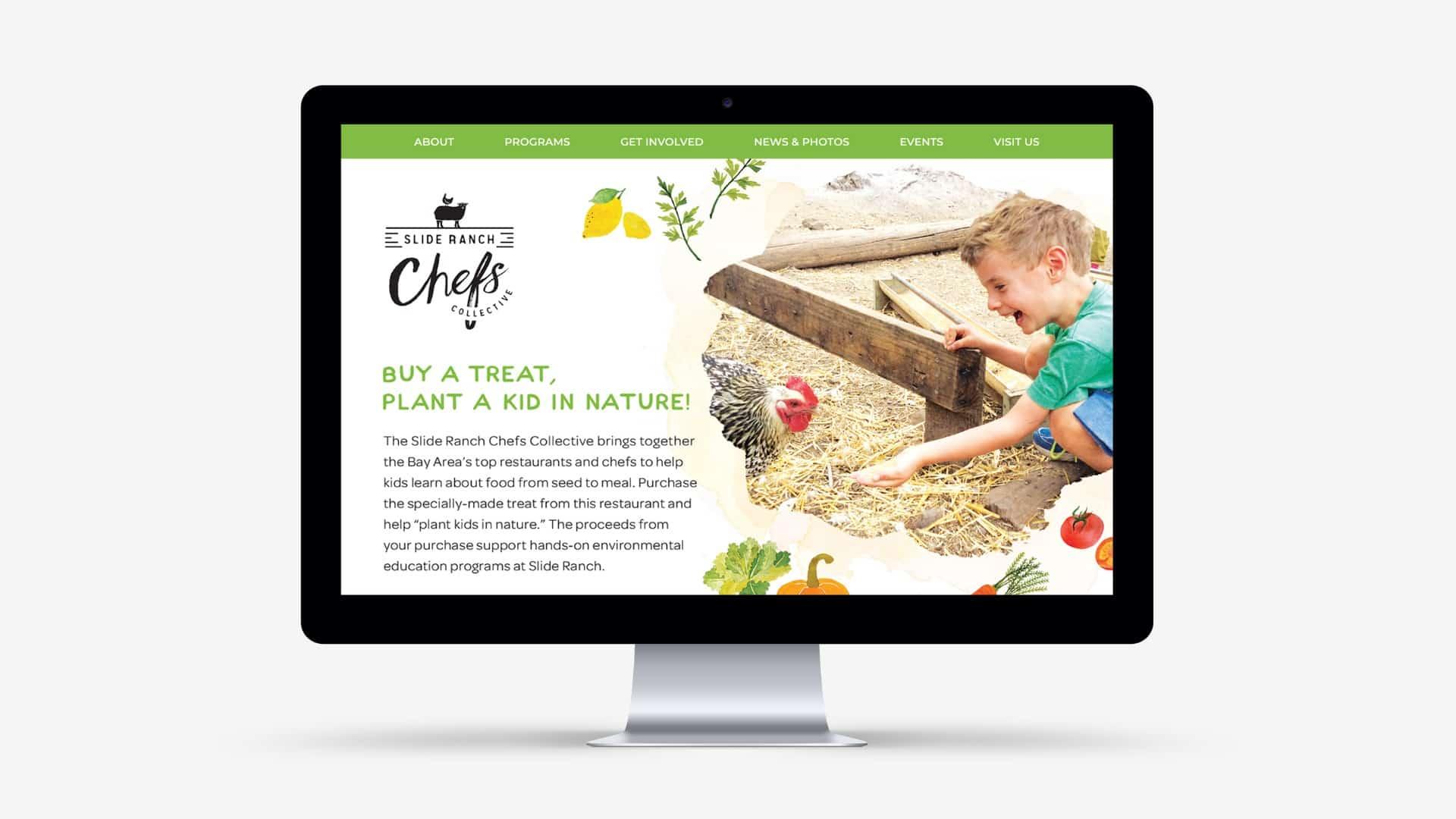 Slide Ranch On Desktop Screen - Creative Agency - Citizen Best
