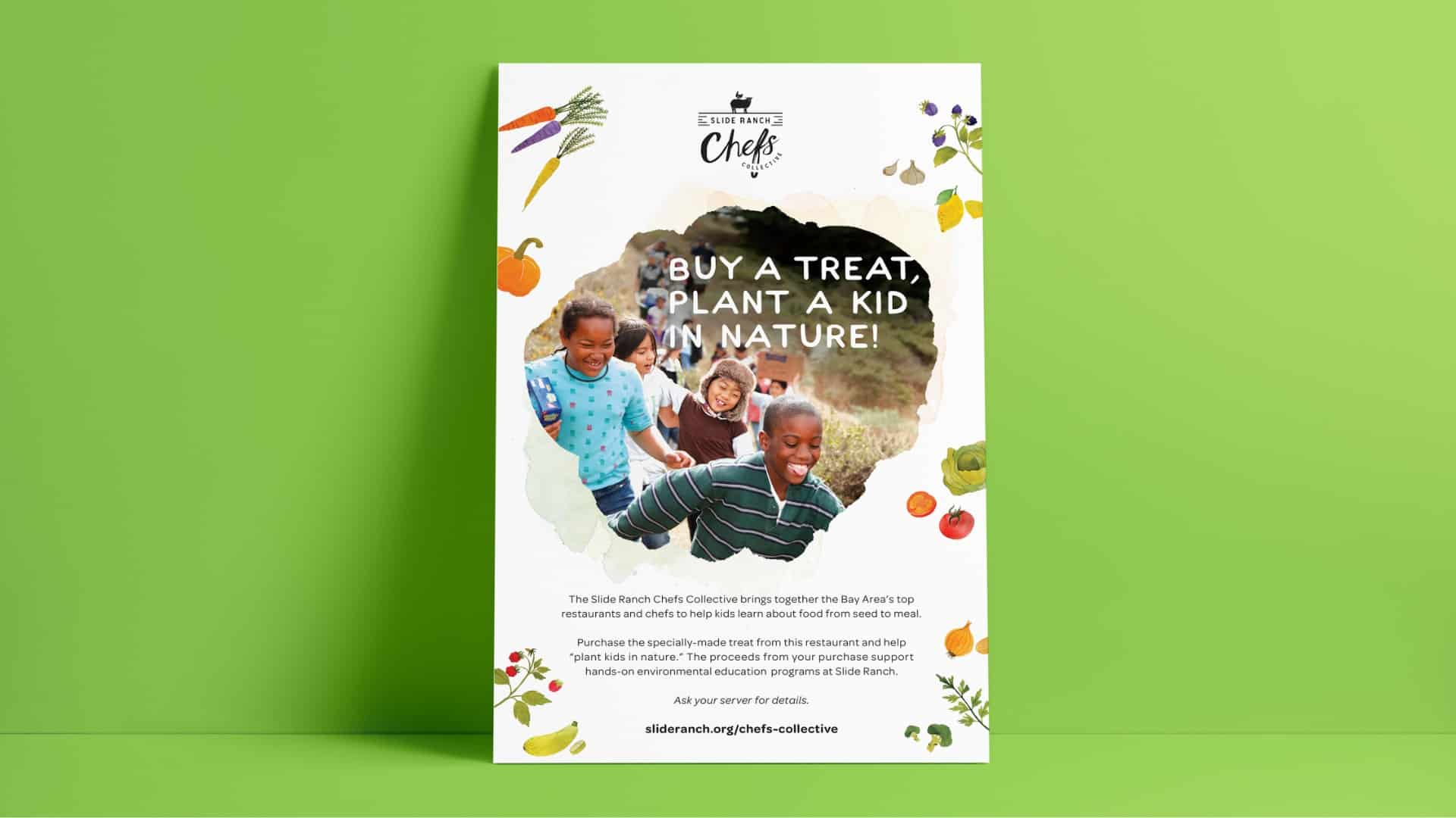 Slide Ranch Buy A Treat, Plant A Kid In Nature - Creative Agency - Citizen Best