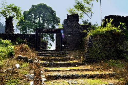 Buxa Fort Entrance