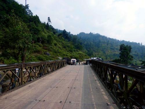 Mukti Bridge over Murti River, Samsing