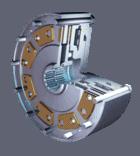 Stromag dry running diaphragm clutch khm hydraulic pneumatic
