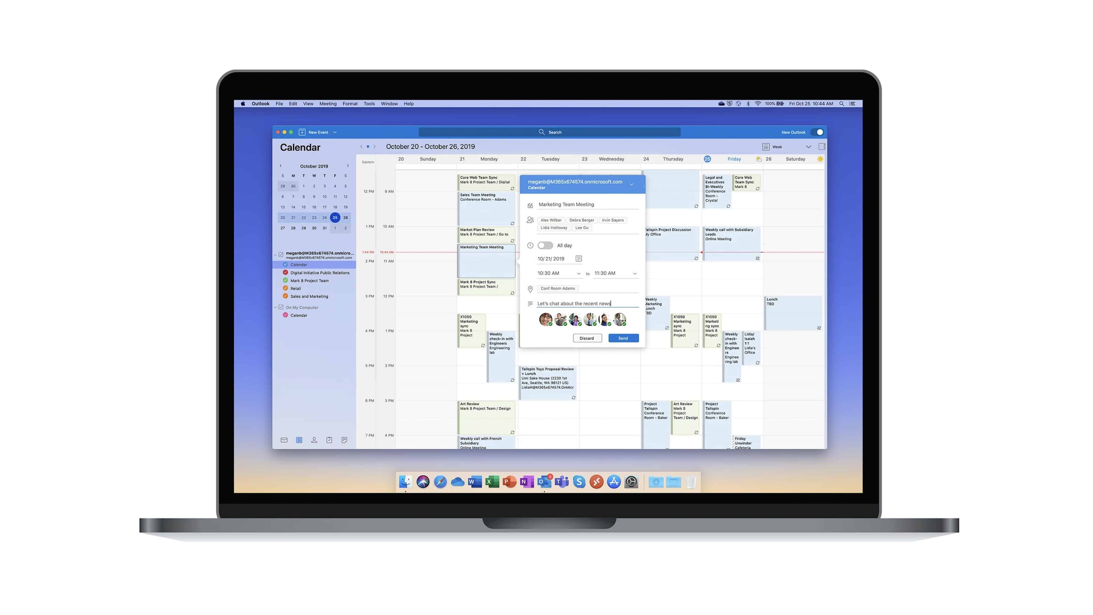 New Outlook - macOS